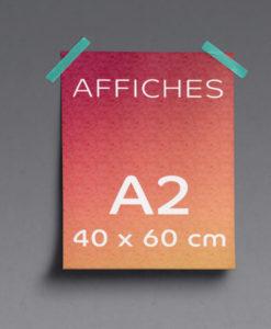 impression affiches A2 40x60cm