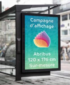 impression affiches abribus JC Decaux